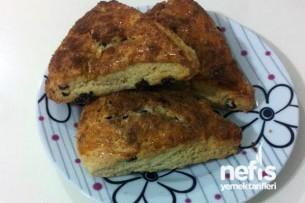 Üzümlü Çörek (Scone) Tarifi