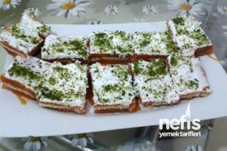 Bisküvili Kabak Tatlısı Yapılışı Tarifi
