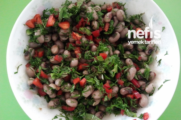 Börülce Diyet Salata Tarifi