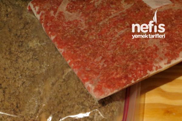Buzlukta Çeşitli Et ve Kıyma Saklama 3
