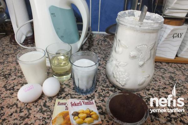 Islak Baton Kek (soslu) 2