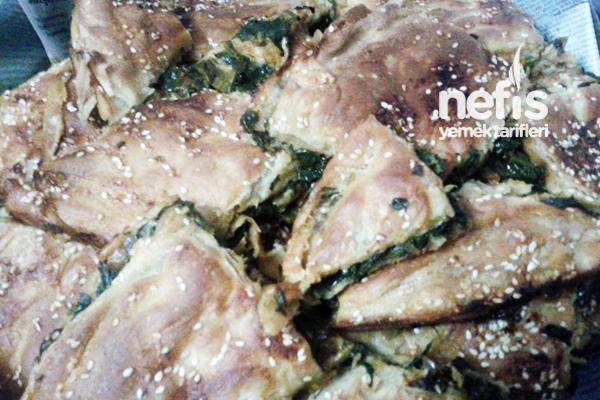 Ispanaklı Börek Hazırlanışı Tarifi