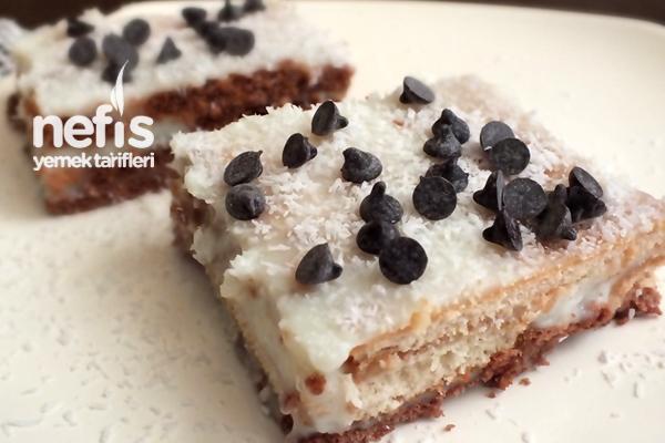 Karışık Bisküvili Pasta Tarifi