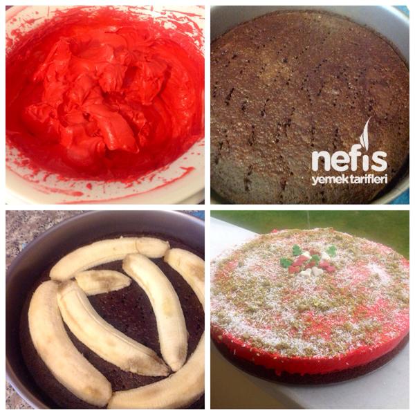 Kırmızı Yeniyıl Pastası 2