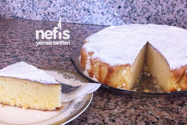 Limonlu ve Nişastalı Kek 2