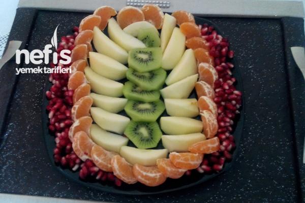Meyve Tabağı Önerisi Tarifi