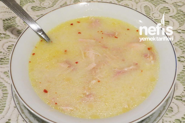 Tavuklu Yalancı İşkembe Çorbası