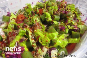 Taze Bakla Salatası Tarifi