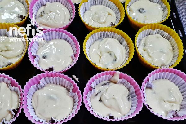 Üzümlü Cevizli Muffin 2