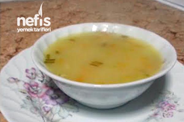 Erişteli Sebze  Çorbası Tarifi