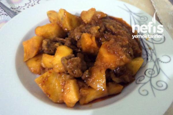 Etli Patates Yemeği Yapımı Tarifi