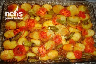 Fırında Patates Oturtma Tarifi