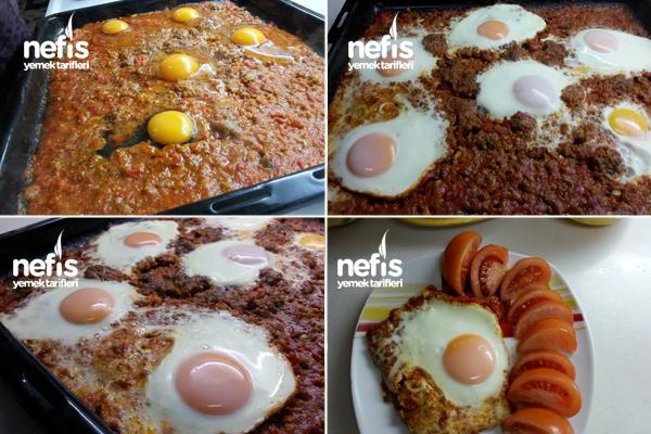 Fırında Yumurta Tarifi 1