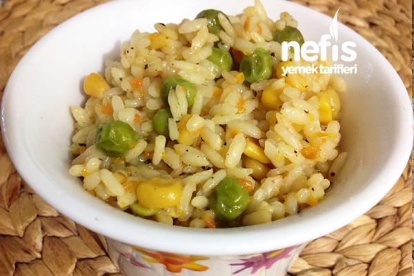Garnitürlü Pirinç Pilavı Yapılışı Tarifi
