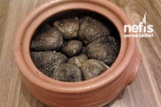 Güveçte Kuru Patlıcan Dolması Tarifi