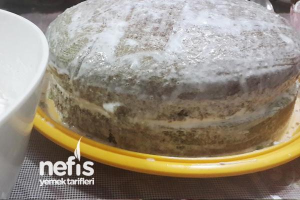 Ispanaklı Pembe Pasta 1