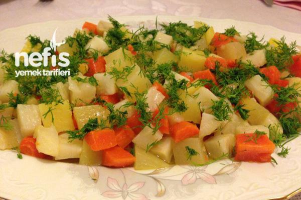Kereviz Salatasının Yapılışı Tarifi