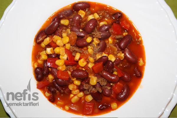 Kırmızı Fasulye Yemeği (Chilli Con Carne) Tarifi