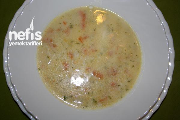 Kremalı Karnabahar Çorbası 2