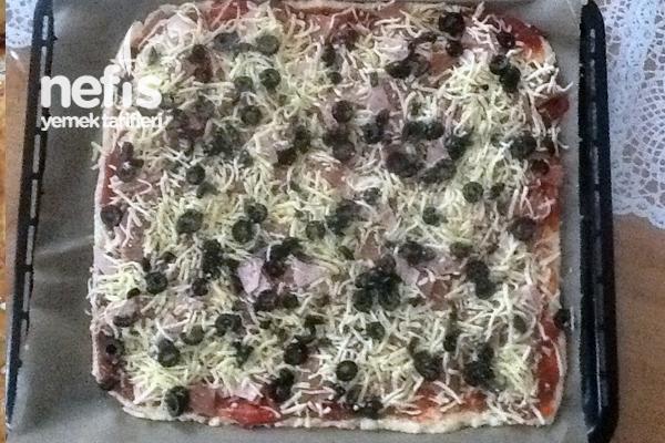 Labneli Pizza Hamuru Tarifi
