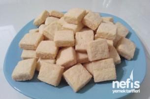 Limonlu Küp Şeker Kurabiye Tarifi