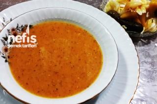 Mercimek Çorbasının Hazırlanışı Tarifi