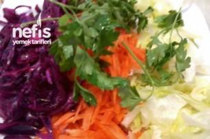 Mevsim Salata Yapımı Tarifi