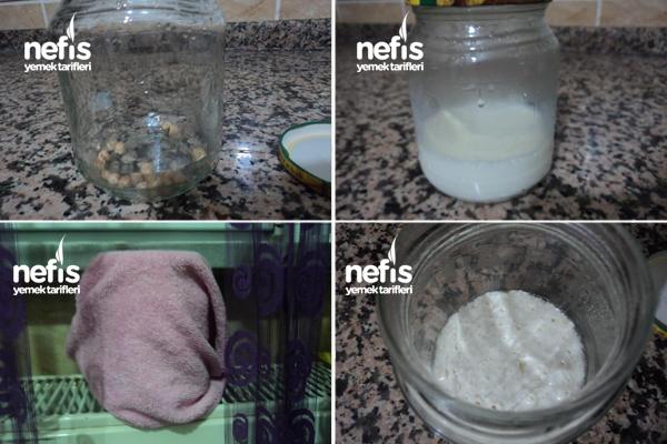 Nohuttan Sağlıklı Yoğurt Mayası Yapılışı 1