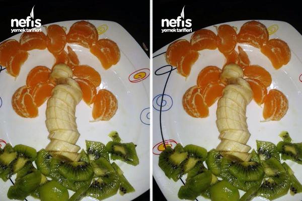 Palmiye Meyve Salatası Tarifi