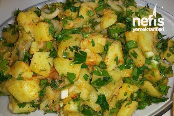 Patates Salatası Yapımı