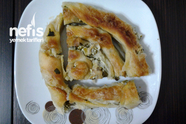 Peynirli Ispanaklı Çarşaf Böreği Tarifi
