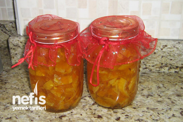 Portakal Reçelinin Tarifi