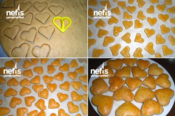 Portakallı Kuru Pasta 1