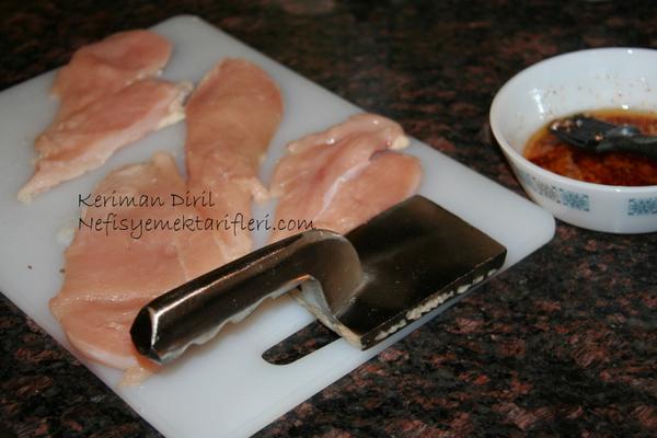 Tavuk Şinitzel (terbiyeli) 1