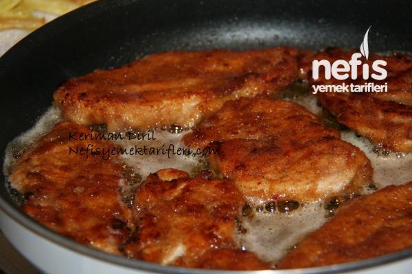 Tavuk Şinitzel (terbiyeli) 3