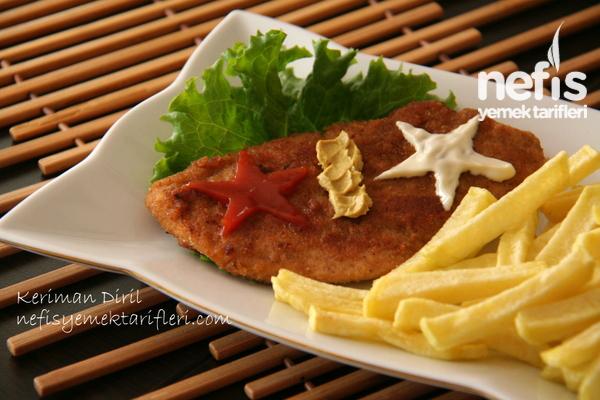 Tavuk Şinitzel (Terbiyeli) Tarifi