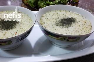 Yayla Çorbasının Hazırlanışı Tarifi