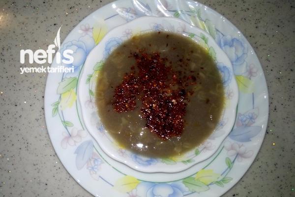 Yeşil Mercimek Çorbasının Yapımı Tarifi