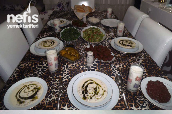Akşam Yemeği (Urfa Usulü Sofra) Tarifi