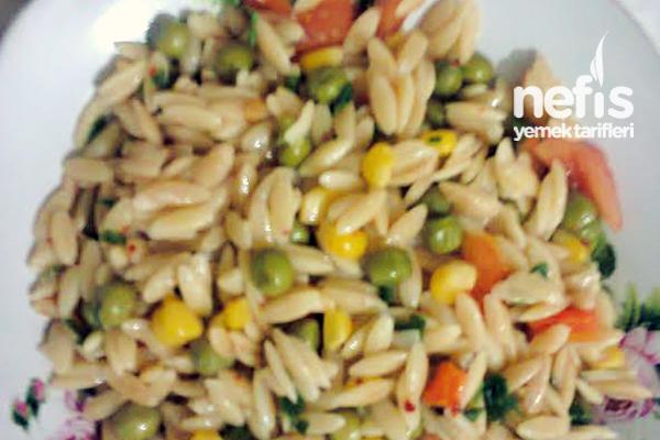 Arpa Şehriye Salatası Yapılışı - Nefis Yemek Tarifleri