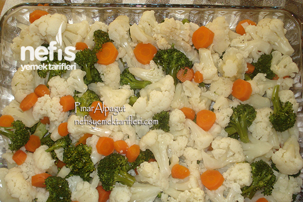 Brokoli ve Karnabahar Graten 1