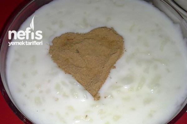 Damla Sakızlı Sütlaç Yapımı 1