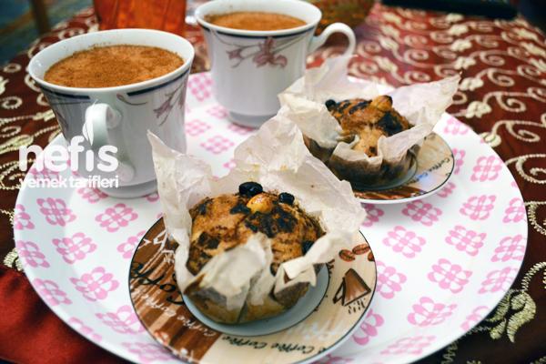 Diyabetik Üzümlü Muffin