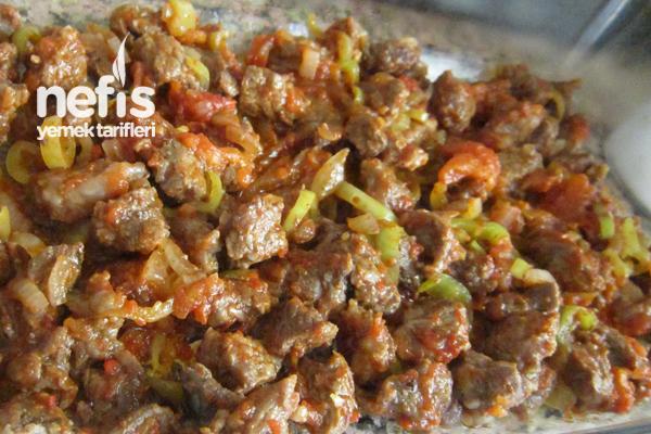 Fırında Beşamel Soslu Sebzeli Et Sote 1