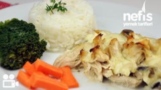 Fırında Kremalı Mantarlı Tavuk Tarifi Videosu
