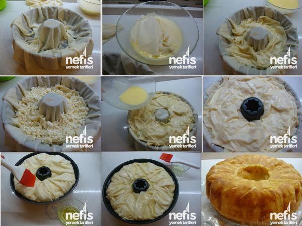 Kek Tarifi Tarifi 1 Kek Kalıbında