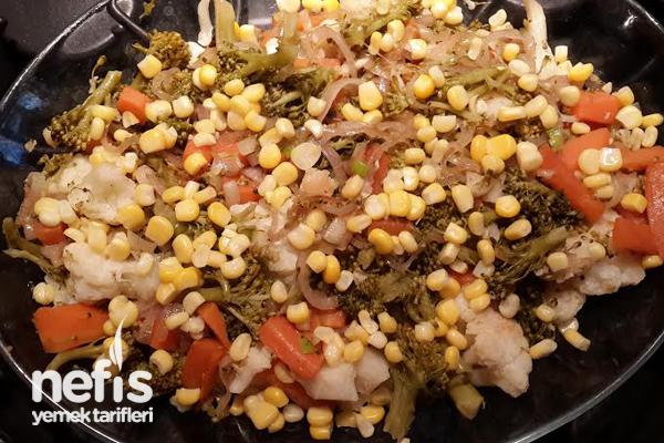 Kış Sebzeleri ile Salata Tarifi