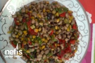 Kuru Börülce Salatasının Tarifi