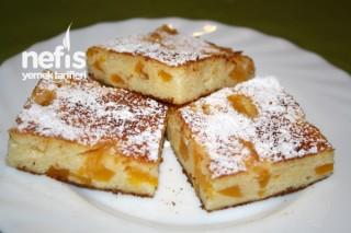 Labneli İrmikli Pasta (Kasekuchen ohne boden) Tarifi