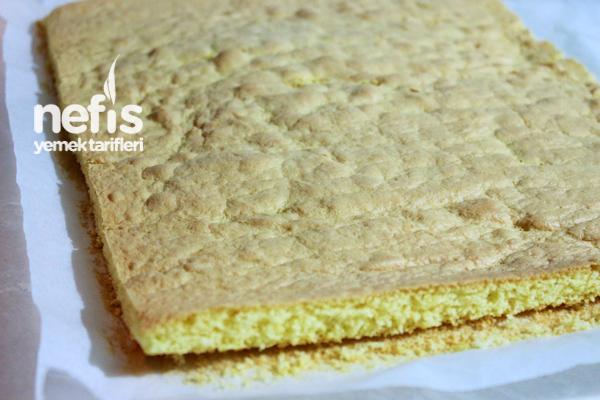 Muzlu Rulo Pasta Hazırlanışı 3